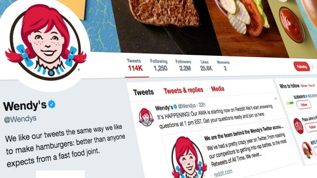 10 Things We Learned About Wendy's Twitter From Its Reddit AMA – Adweek