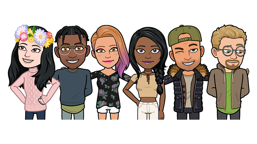 Snap Launches Bitmoji Deluxe With Hundreds of New Emoji Customization  Options e93130cc4