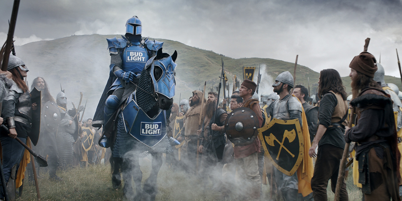 2eec02200 Bud Light Marches Into the Super Bowl With Its Biggest 'Dilly Dilly' Ad Yet