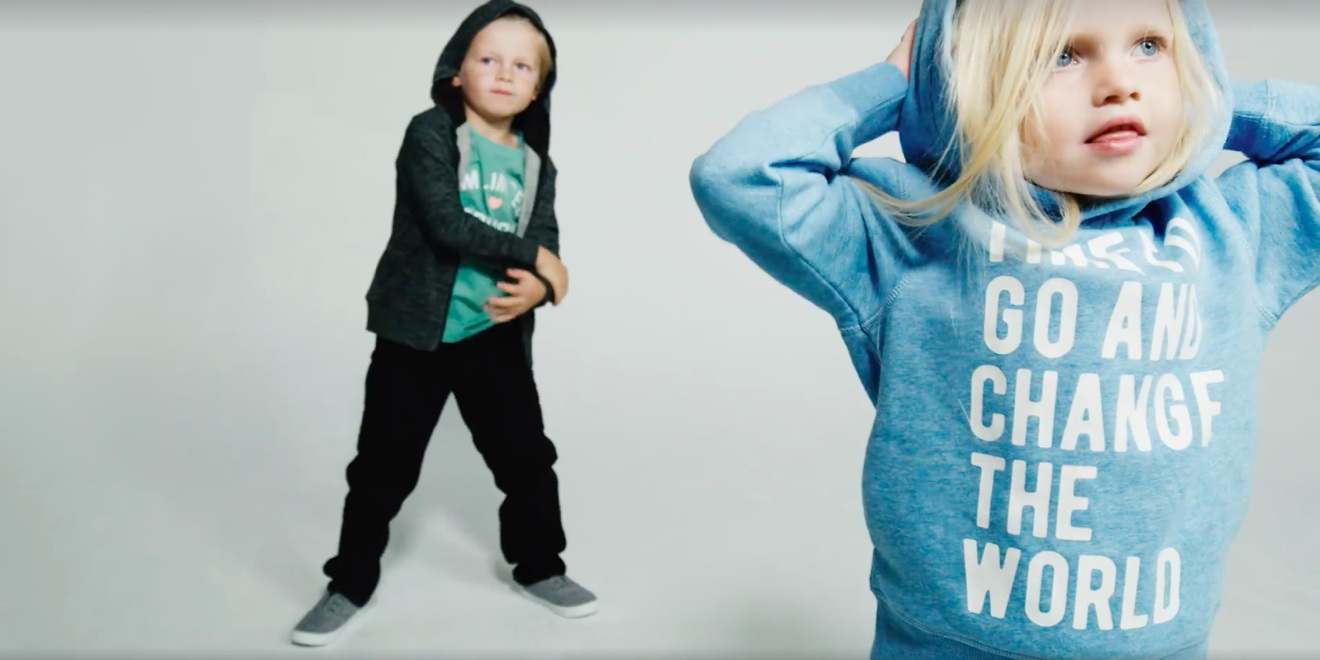 185a98e4d944 Tired of H&M's Gendered Kids' Clothes, These Moms Made the Ads They ...