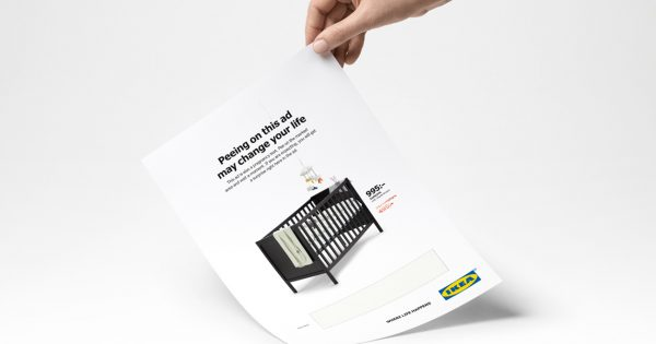 Why the Ikea Ad That You Pee on Is (Maybe) Not as Weird as You Thought