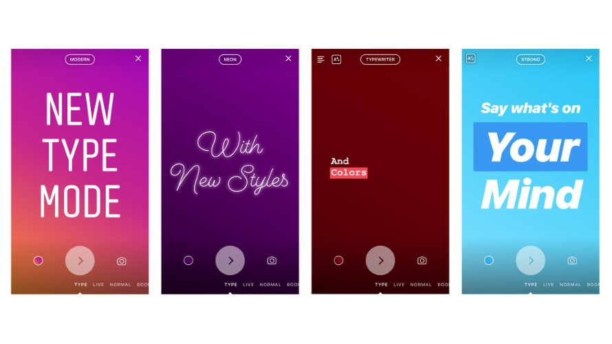 Instagram Heres How To Use The New Type Mode In Stories Adweek