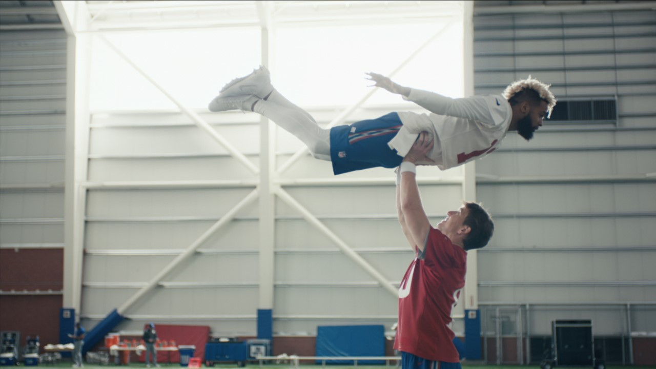 The New York Giants Had the Time of Their Lives Making This Dirty Dancing Super Bowl Tribute