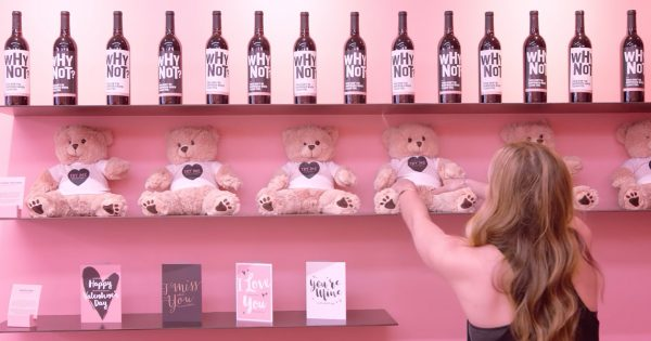 This Valentine's Day Store in NYC Warns Shoppers About the Darker Side of Love