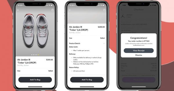 38669f9c17e14f Snapchat s Ecommerce Strategy Hit a New High When It Sold Out the New Air  Jordans in Minutes – Adweek