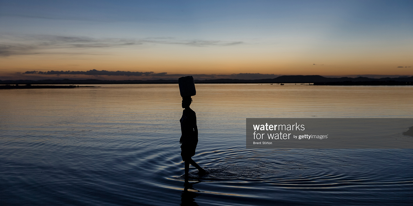 getty images aims to help people in need of clean water with