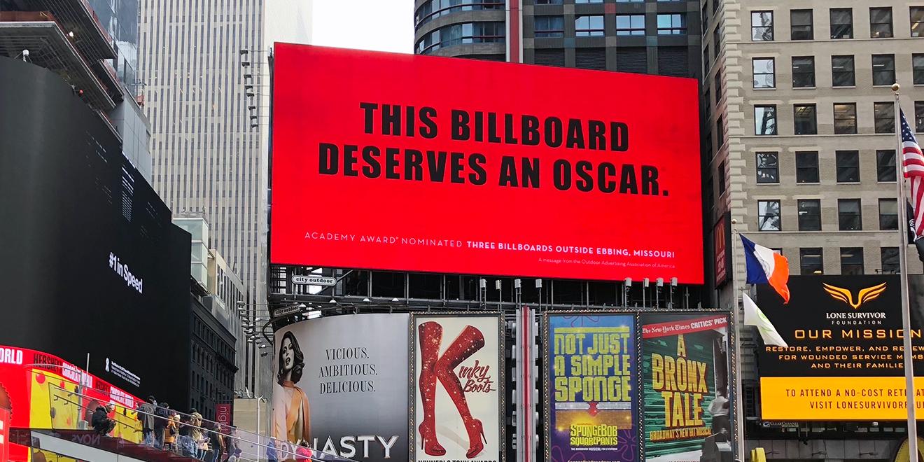 The billboard industry thanked 3 billboards using 3 billboards the billboard industry has mimicked three billboards stopboris Images