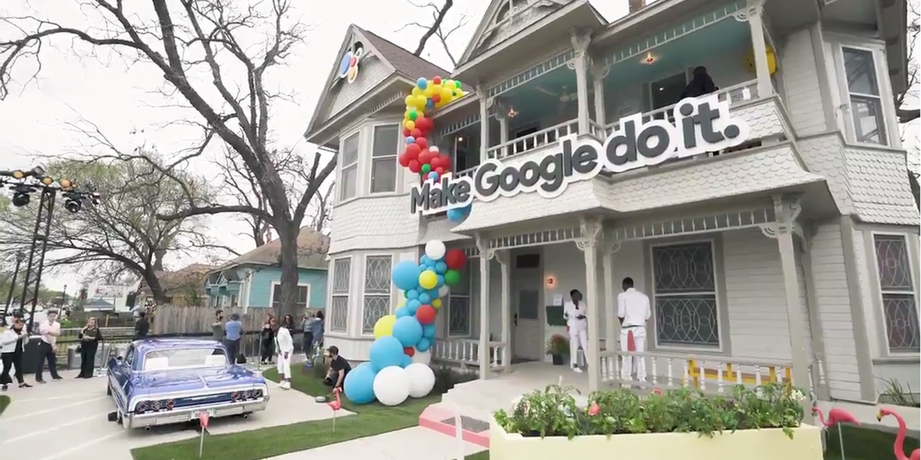 Google Turned an Austin House Into a Giant, Connected Fun