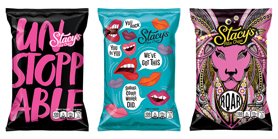 Image result for stacy's pita chips women's history month design