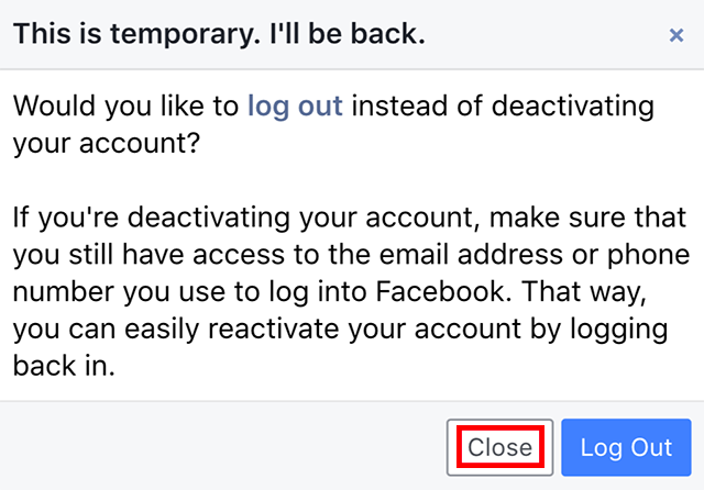 How To Permanently Remove A Facebook Account