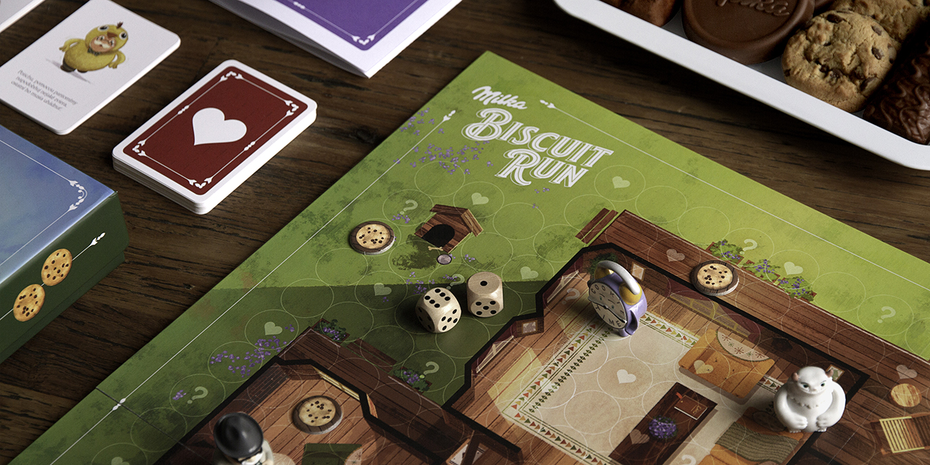 Wieden Kennedy Created A Board Game For A Cookie Brand So Of