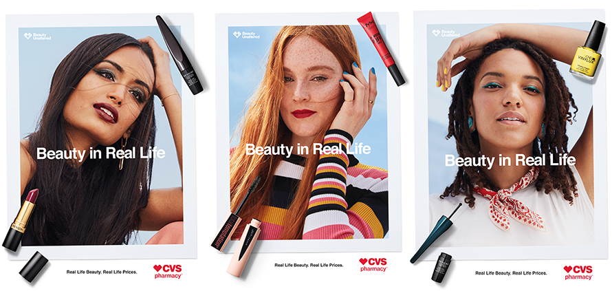 here are the first cvs beauty ads with images that haven t been