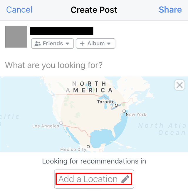 Facebook Here S How To Ask For Location Based Recommendations Adweek