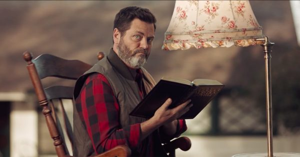 Nick Offerman Silently Judges Those Who Can't Repair Their Stuff in Ads for J-B Weld