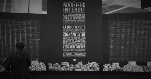 One French Supermarket Chain Uses Black Markets to Highlight the Absurdity of EU Food Regulations