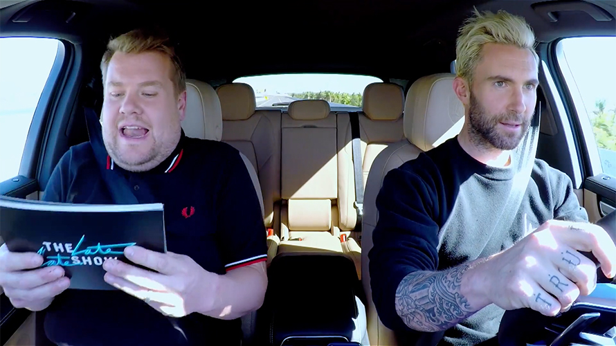 Carpool Karaoke Scores Partnership With Porsche Its First With A