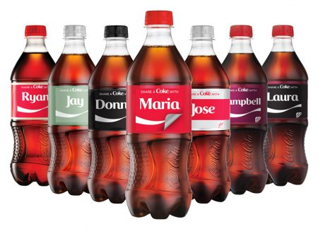 coca cola brings back share a coke campaign with sticker packaging