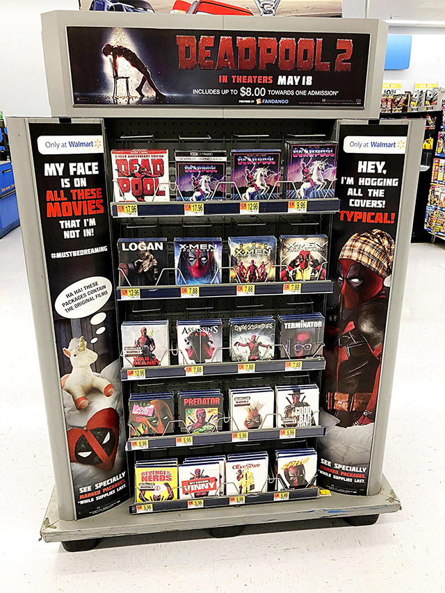 Here's the Story Behind Deadpool's Incredible Blu-ray