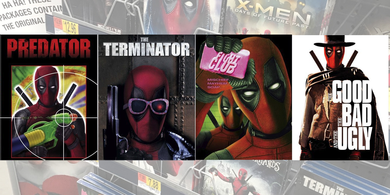 Deadpool Has Invaded the Rest of Walmart's Movie Aisle With