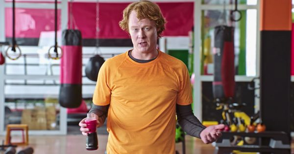 Vitaminwater's 'Sorta-Fit Spokesguy' Is Representing Those of Us Who Begrudgingly Work Out – Adweek