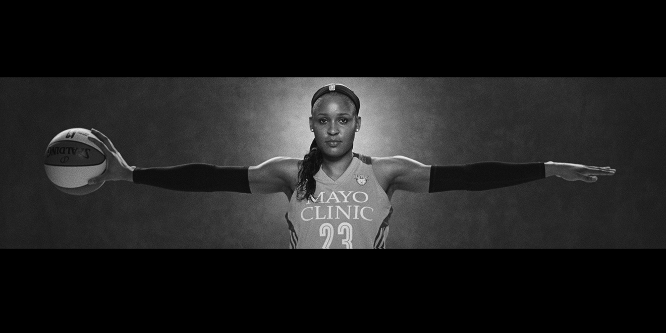 quality design 96fc2 9fa63 Maya Moore of the WNBA s Minnesota Lynx picks up Michael Jordan s mantle in  the new spot.