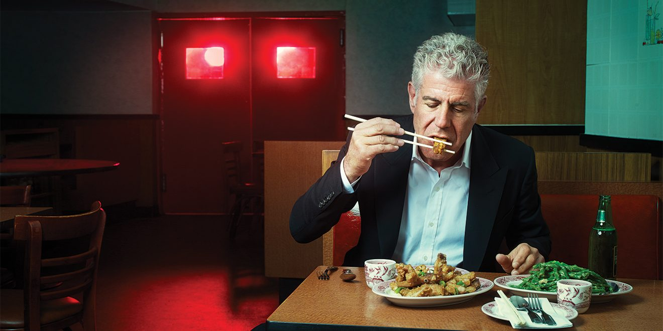 Agree with Anthony bourdain no reservations food porn the