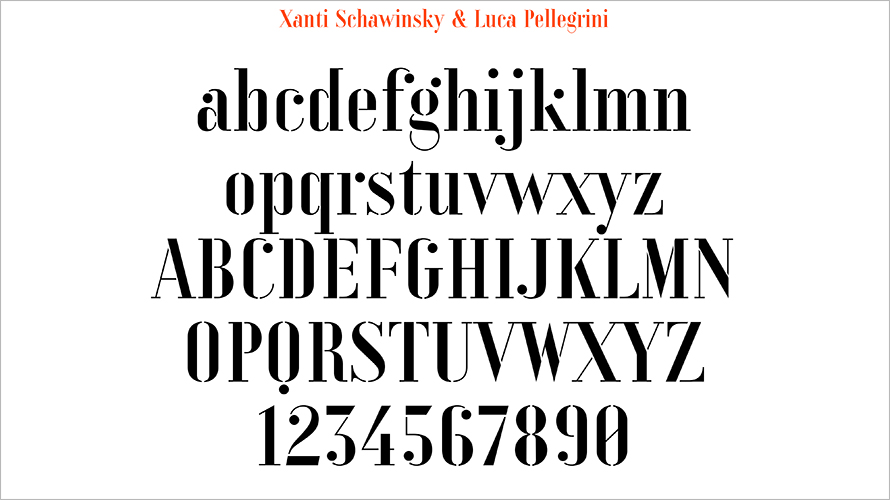 adobe has created five fonts from the lost lettering of original