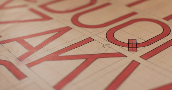 Adobe Has Created Five Fonts From the Lost Lettering of Original Bauhaus Designers