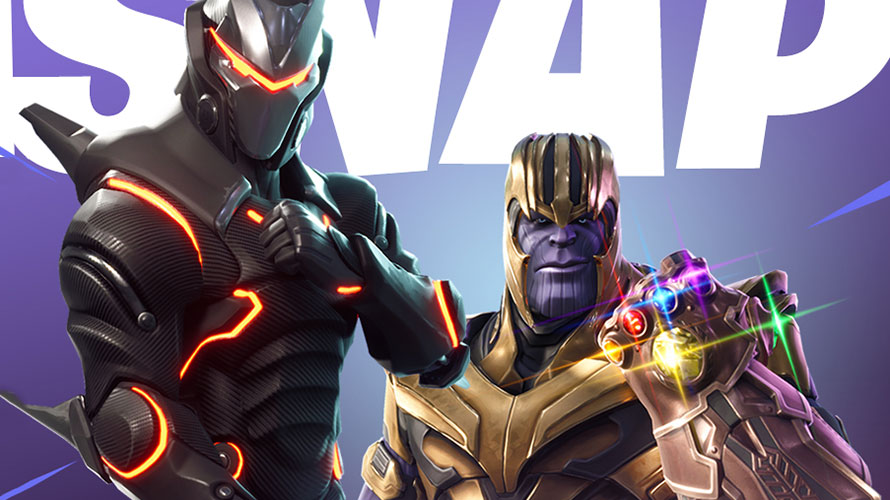 fortnite conducted a cross promotion with thanos from avengers infinity war - skin do thanos fortnite