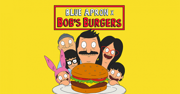 This Blue Apron Hookup With Bob's Burgers Is Just Too Gouda