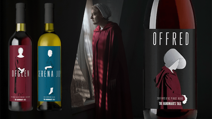 Image result for handmaid's tale wine