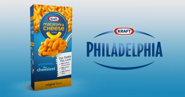 Kraft Heinz Sends Kraft Mac and Cheese, Philadelphia Cream ...