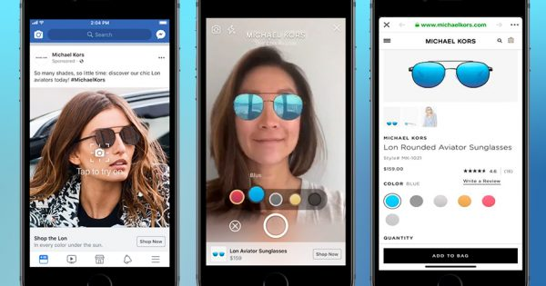 Facebook Is Testing Augmented Reality Shopping Ads and Rolling Out 3 Other Tools for Brands thumbnail