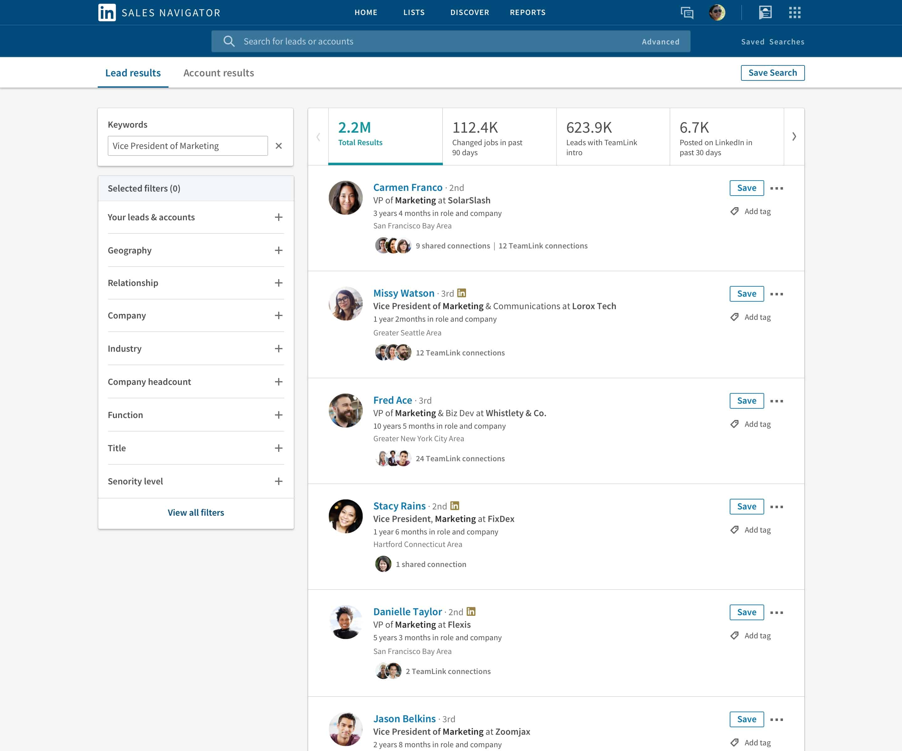 LinkedIn Added Several New Features to Its Sales Navigator