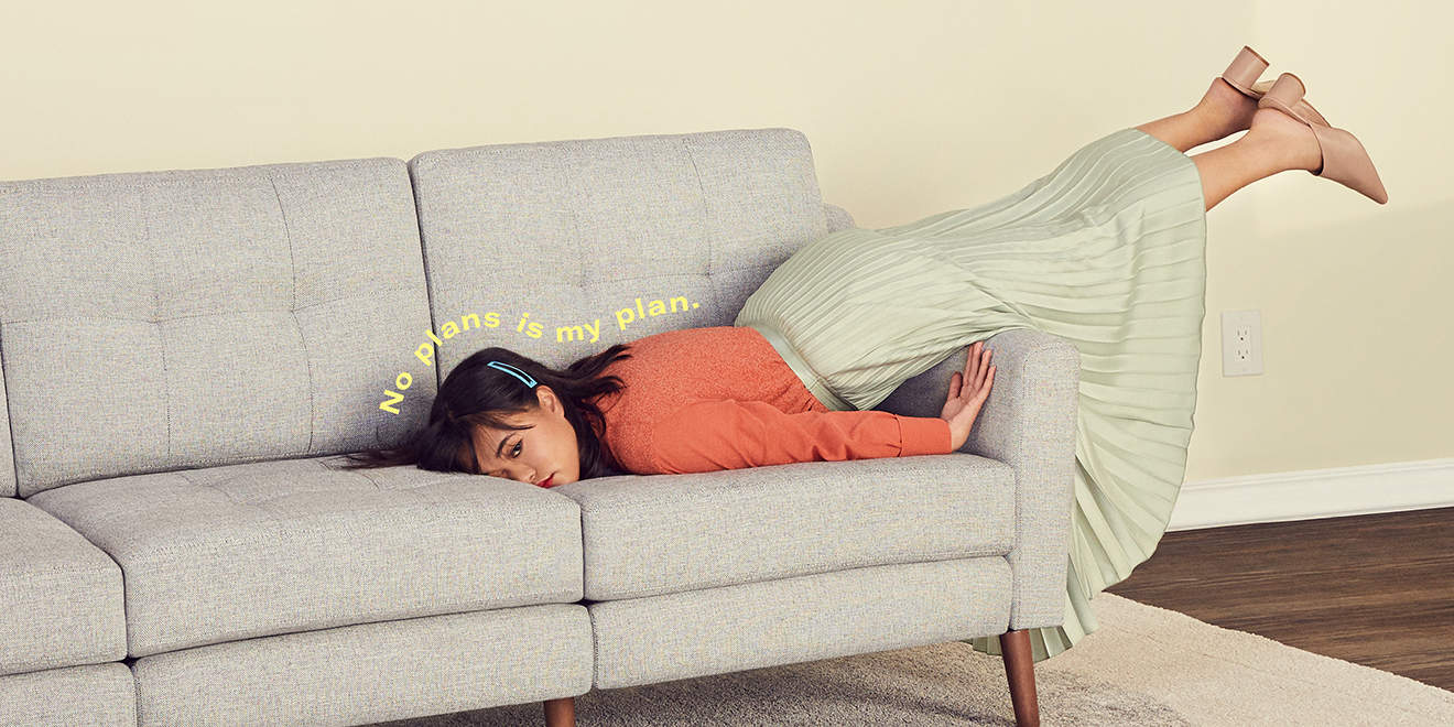 sofa startup burrow knows you would rather be doing absolutely