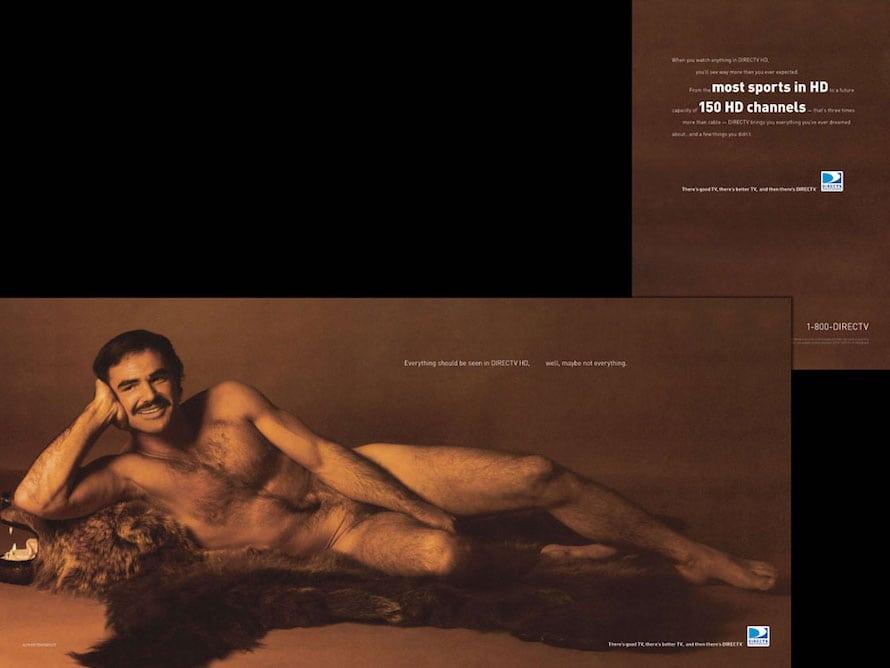 Burt reynolds naked in cosmopolitan