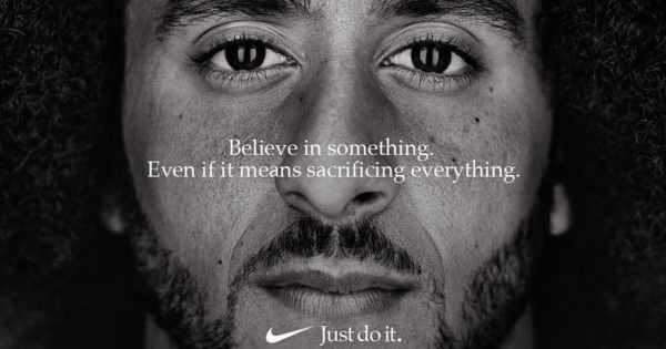Colin Kaepernick Gets the Call, Fronts Nike's 30th Anniversary of 'Just Do It'