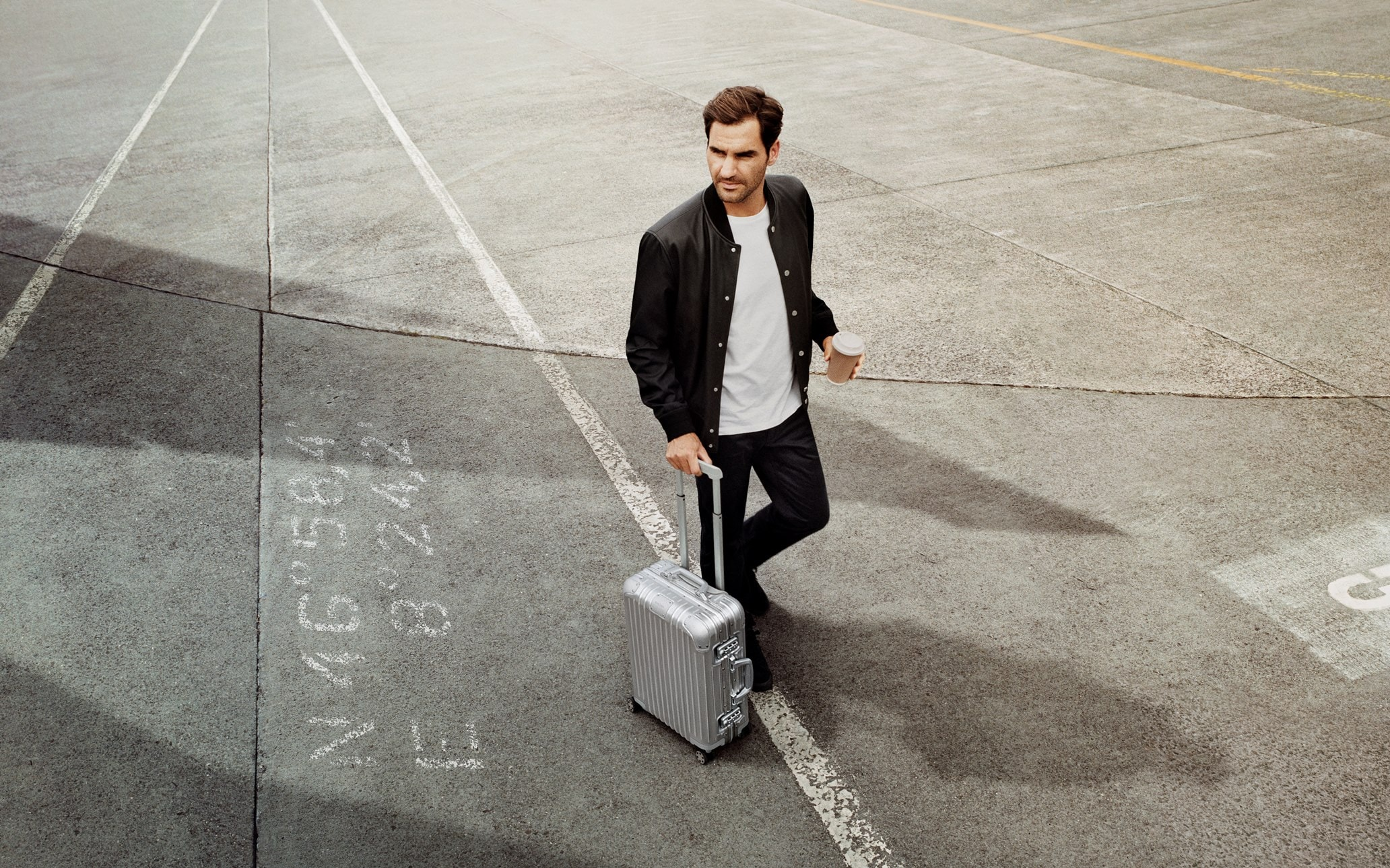 Roger Federer Leads A Cosmopolitan Cast Of World Travelers