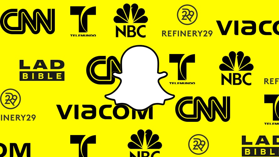 Snapchat Seeking Ad Revenue Launches Partnerships With 25 Media