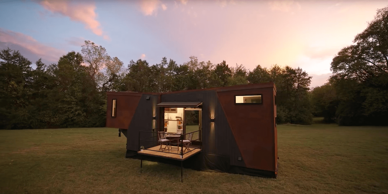 You Can Rent This Tiny Home That's Literally Powered by Coffee for Only $10 a Night
