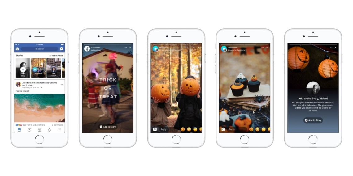 Facebook Is Testing a Special Halloween Stories Feature in the U.S.