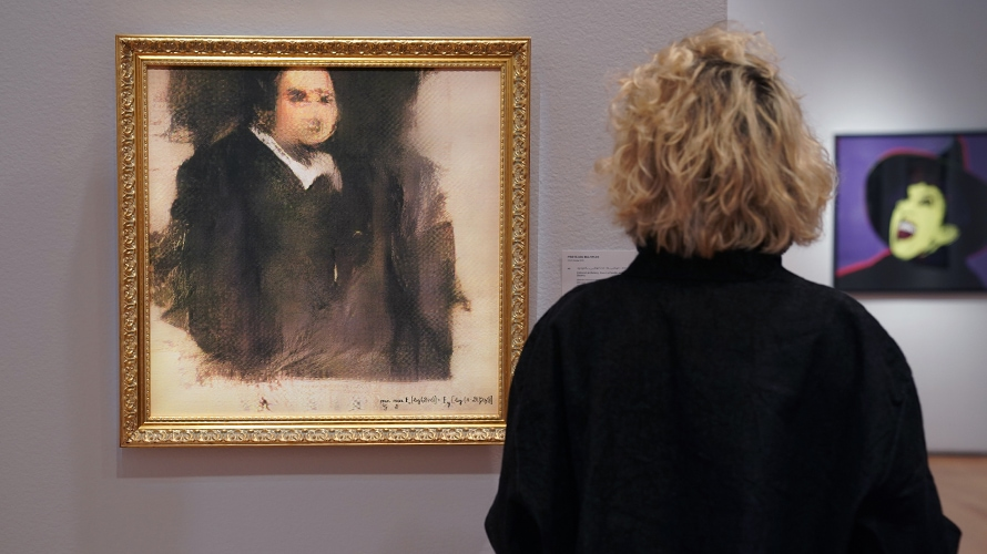 AI-Generated Art Sells for Nearly Half a Million Dollars at