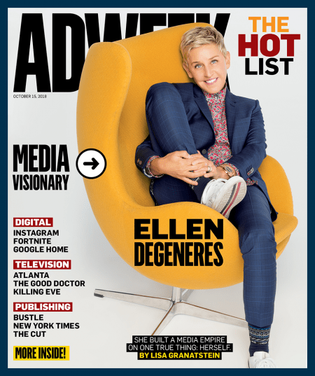 78c9a2302dc0 How Adweek Media Visionary Ellen DeGeneres Built a Media Empire – Adweek