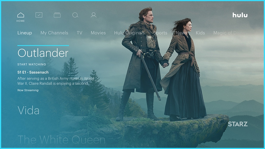 Hulu Subscribers Can Add On Starz Ahead of Outlander Season