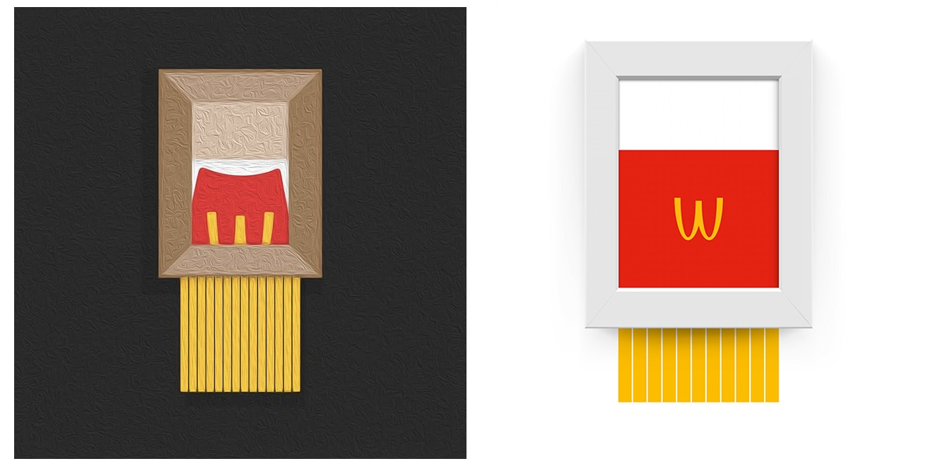 Mcdonald S Agencies Rush To Reference Banksy S Shredded