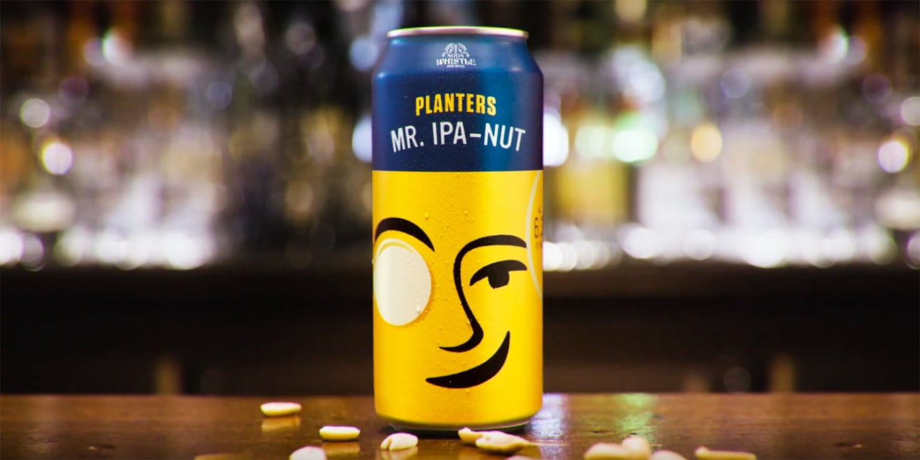 planters is the newest brand with a beer, which it\u0027s calling mr ipathe beer promises \u0027a citrus aroma and a hint of honey roasted peanuts\u0027 with a salty finish