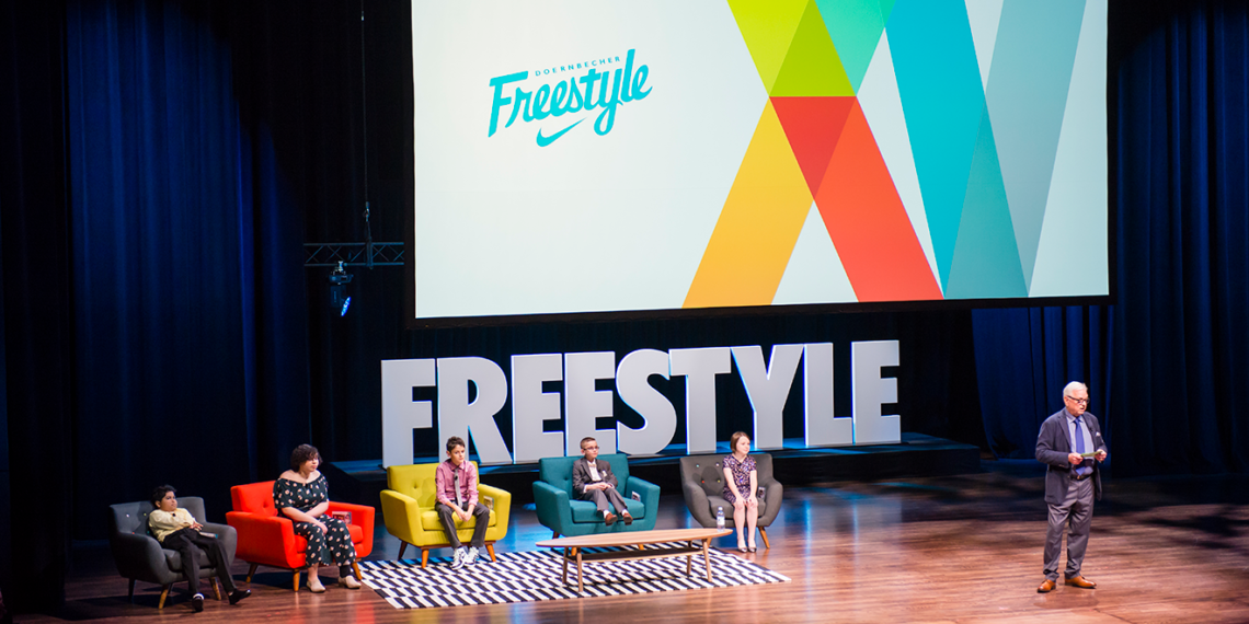 daa958c3ff2234 The Doernbecher Freestyle gala opens at Nike s World Headquarters. OHSU    Doernbecher