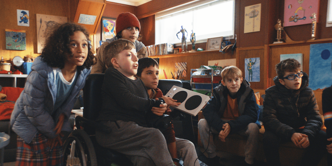 A Young Gamer Gets the Hero's Treatment in This Endearing Ad for Microsoft's Adaptive Controller