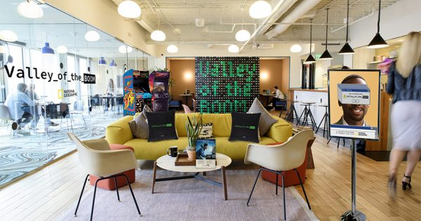 WeWork Is Going Back to the '90s in Partnership With National Geographic