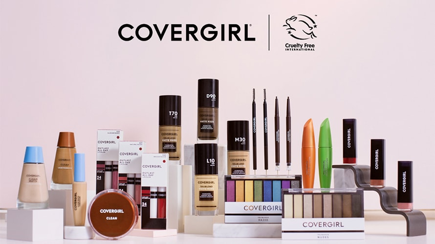 Covergirl becomes the largest beauty brand to score Leaping Bunny certification.